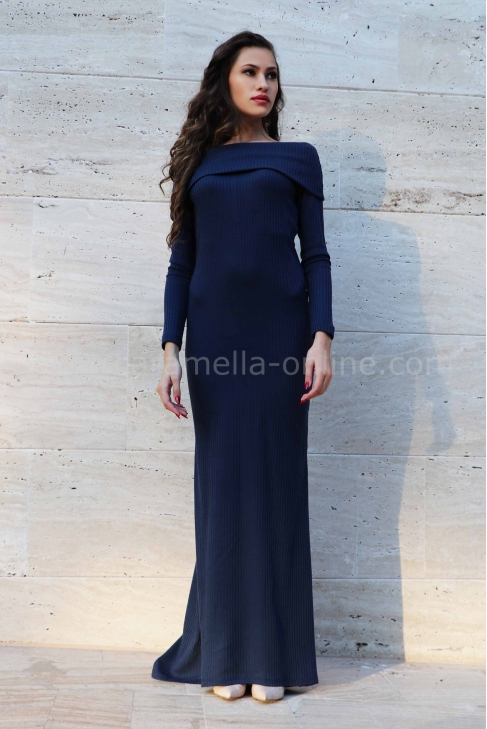 Dress Blue Rain 012188