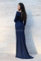 Dress Blue Rain 012188 2