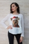 Blouse Christmas Dog 022133 4