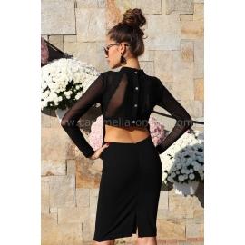 Рокля Black Style