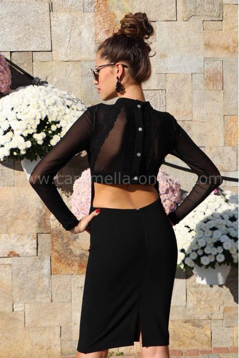 Рокля Black Style 012191