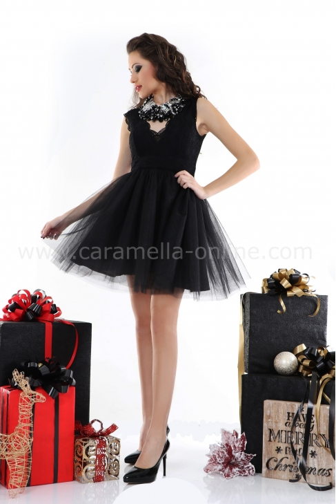 Dress Black Princess 012199