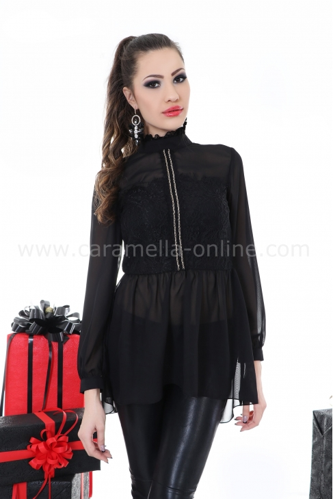 Blouse Black Luxe 022139