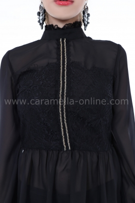 Blouse Black Luxe