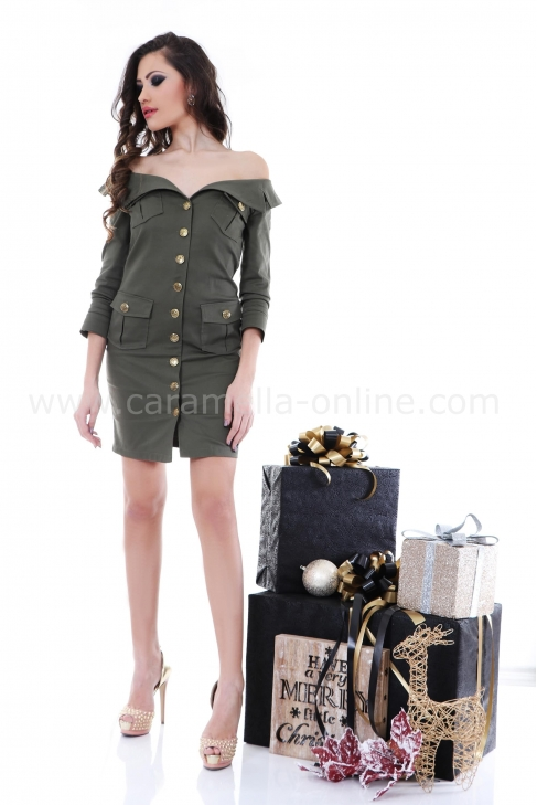 Рокля Military Balmain 012208