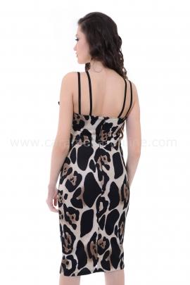 Рокля Leopard Fabiola