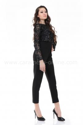 Jumpsuit Black Rose