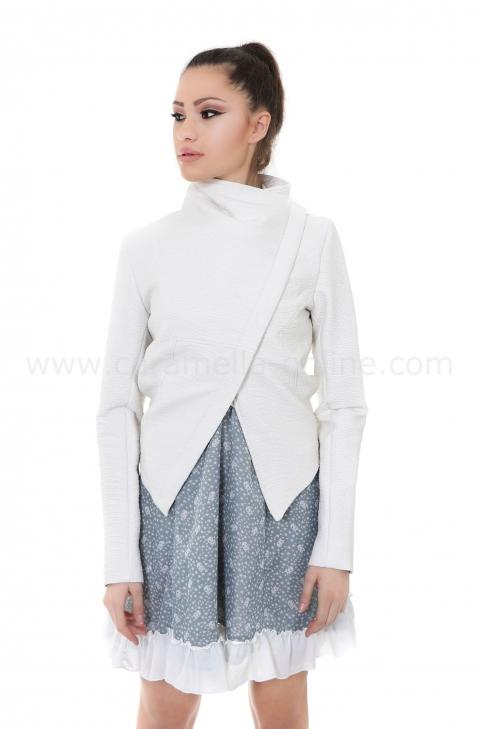 Jacket Rocked White 062027