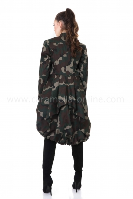 Tranch coat Military Woman