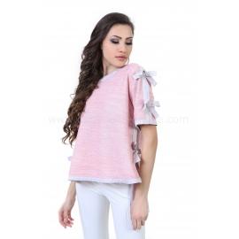Blouse Pink Ribbons