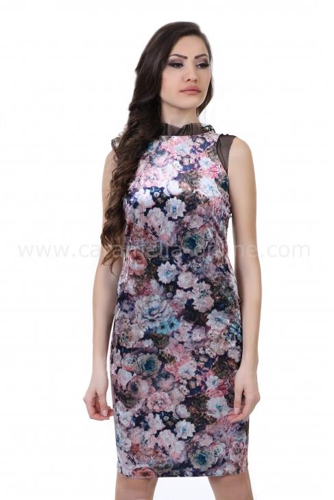 Dress Pink Rose 012230