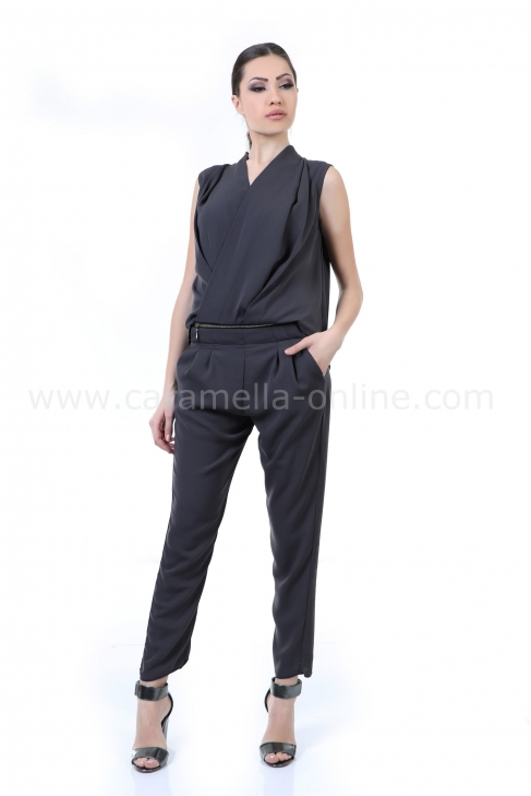 Jumpsuit Gray Velvet 042012