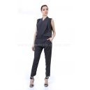 Jumpsuit Gray Velvet
