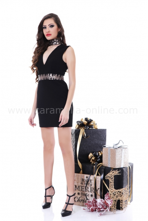 Dress Black Mistic 012202