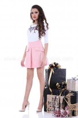 Skirt Pink Cashmere Daimond