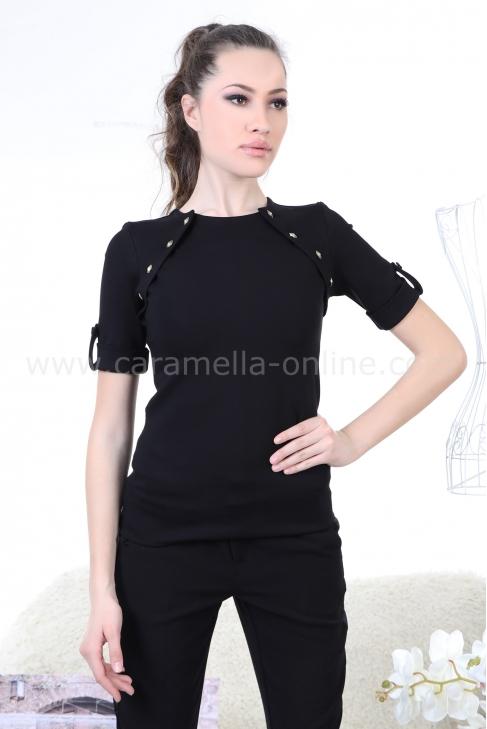 Blouse Black Balmain 022158