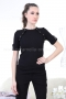 Blouse Black Balmain 022158 1