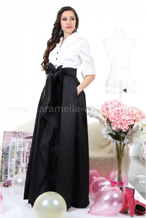 Dress Black & White 012239
