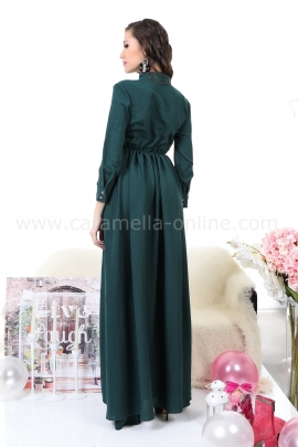 Dress Emerald Green