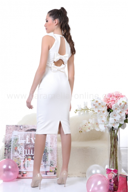 Dress White Chic 012249