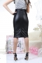 Skirt Black Leather 032036 3