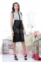 Skirt Black Leather 032036 4