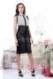 Skirt Black Leather 032036 4