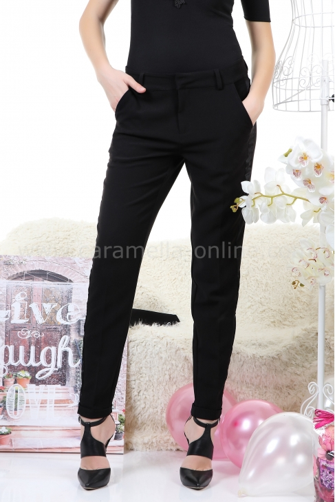 Pants Casual Black 032037