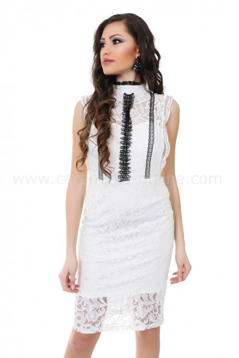Рокля White Pearl 012220