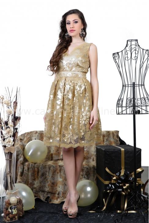 Рокля Gold 012251