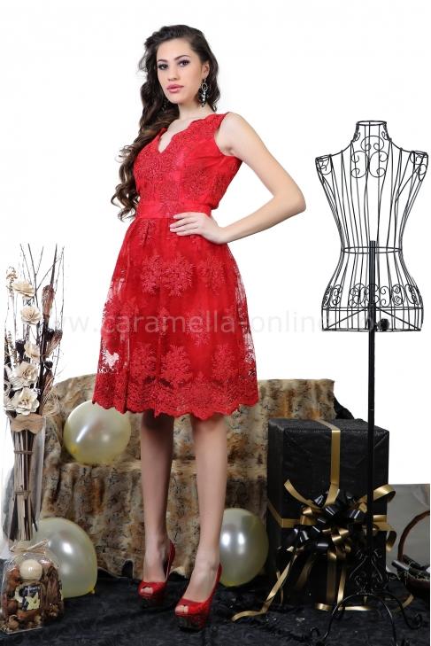 Dress Red Bianchi 012252