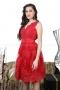 Dress Red Bianchi 012252 3