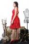 Dress Red Bianchi 012252 5