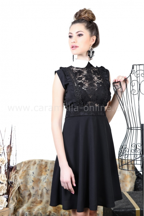 Рокля White Collar 012254