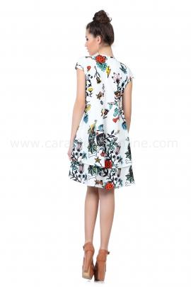 Рокля Plain Dress