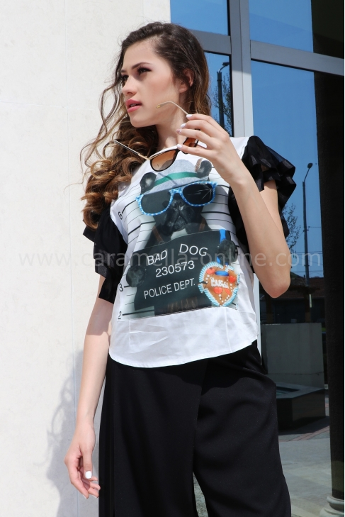 Blouse Bad Dog 022178