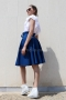Skirt Cotton Blue