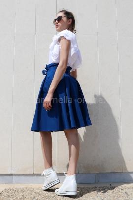 Skirt Cotton Blue