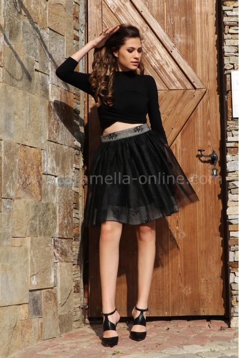 Skirt Black Cristal 032044