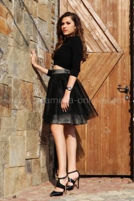 Skirt Black Cristal