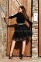 Skirt Black Cristal 032044 4