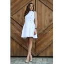 Dress Silver White