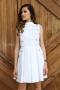 Dress Silver White 012268 2