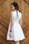 Dress Silver White 012268 3