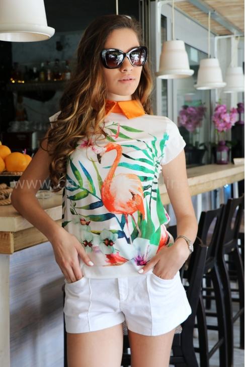 Блуза Orange Flamingo 022183