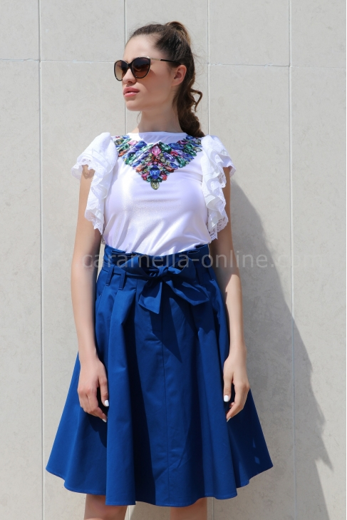 Blouse Blue Diamond 022191