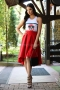 Skirt Ross Inna Red 032053 1