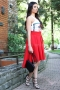 Skirt Ross Inna Red 032053 2