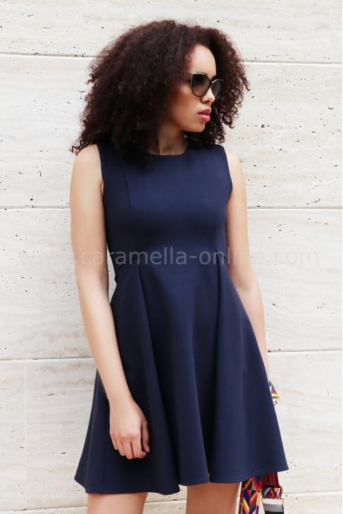 Dress Blue Berry 012275