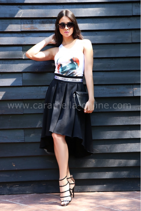 Skirt Black Caramella 032055